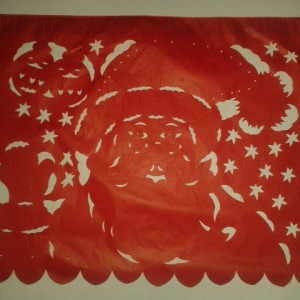 Santa Claus Papel Picado