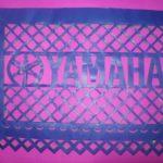 Logotipo Yamaha Papel picado